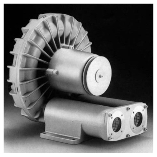 Промышленная вихревая воздуходувка Elektror SD 4n-1