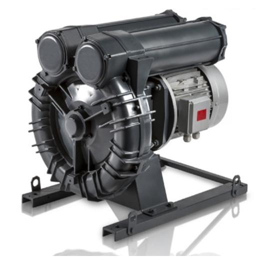 Промышленная вихревая воздуходувка FPZ K09-TS-GOR-5.50-2 Flex-coupling Horizontal IE2